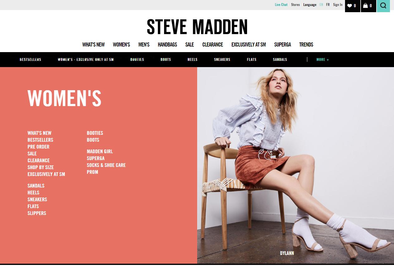 Steve Madden Shoes | Internet Marketing